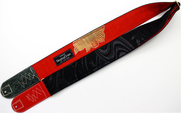 Singing Crane - Beautiful guitar strap - SC519052