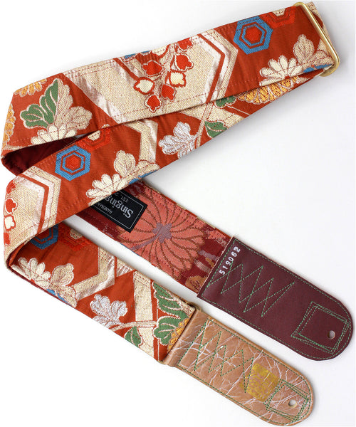 Singing Crane - Beautiful guitar strap - SC519062