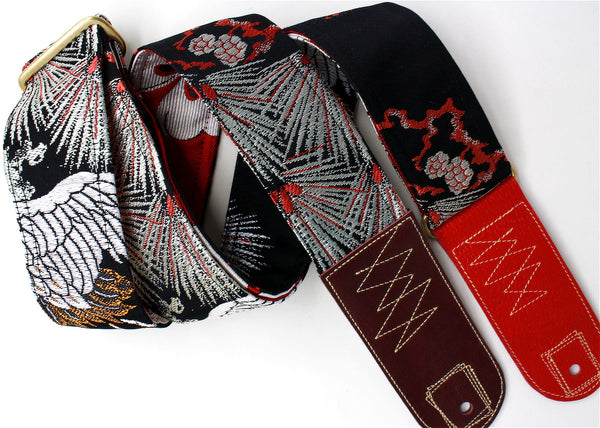 Singing Crane - Beautiful guitar strap - SC519082