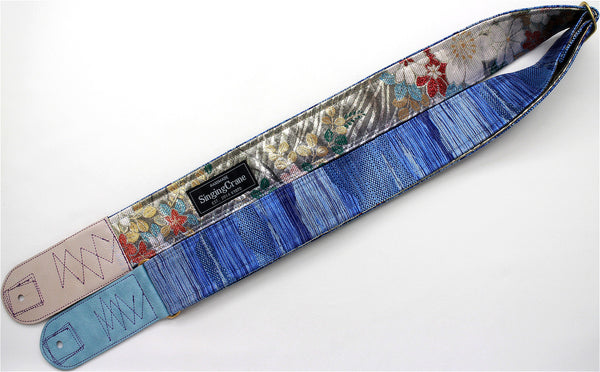 Singing Crane - Beautiful guitar strap - SC519091