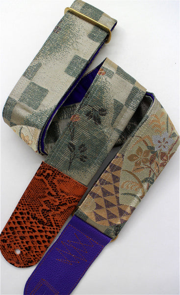 Singing Crane - Beautiful guitar strap - SC519102