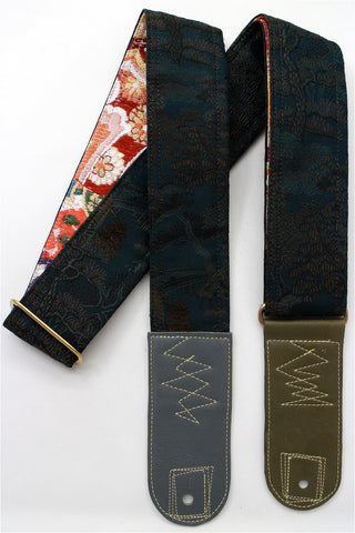 Singing Crane - Beautiful guitar strap - SC519111