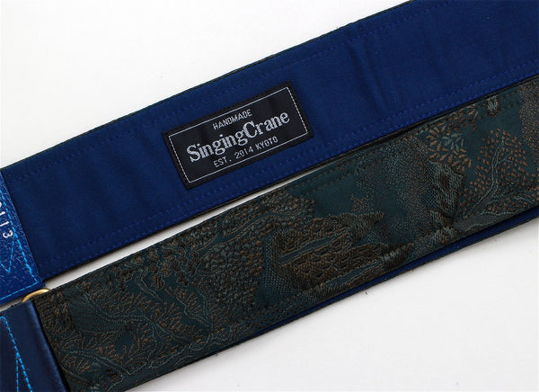 Singing Crane - Beautiful guitar strap - SC519113