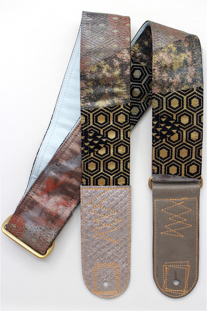 Singing Crane - Beautiful guitar strap - SC519121