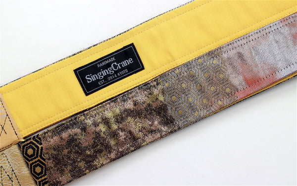 Singing Crane - Beautiful guitar strap - SC519123