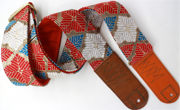 Singing Crane - Beautiful guitar strap - SC519172