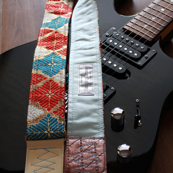 Singing Crane - Beautiful guitar strap - SC519173