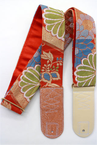 Singing Crane - Beautiful guitar strap - SC519202