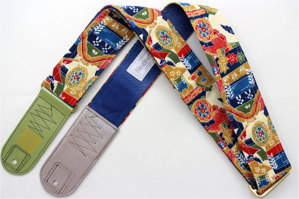 Singing Crane - Beautiful guitar strap - SC519231