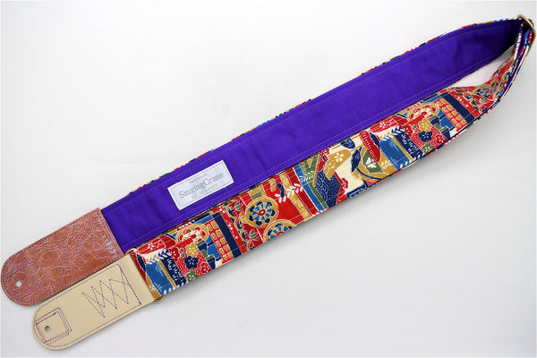 Singing Crane - Beautiful guitar strap - SC519233