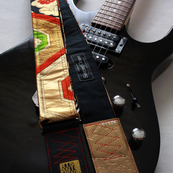 Singing Crane - Beautiful guitar strap - SC519241