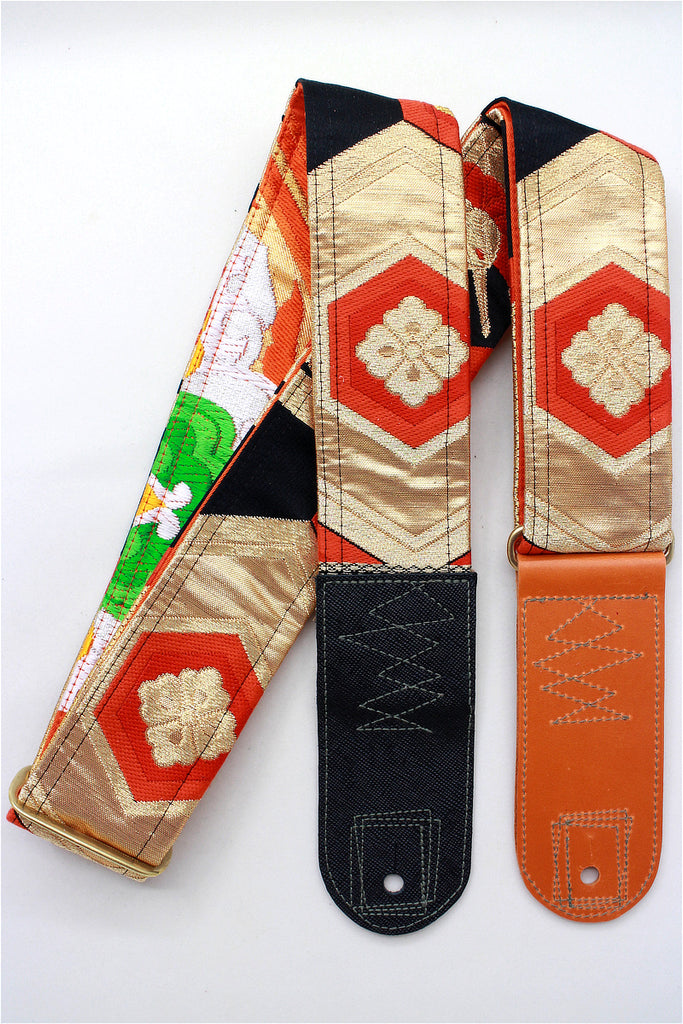 Singing Crane - Beautiful guitar strap - SC519242