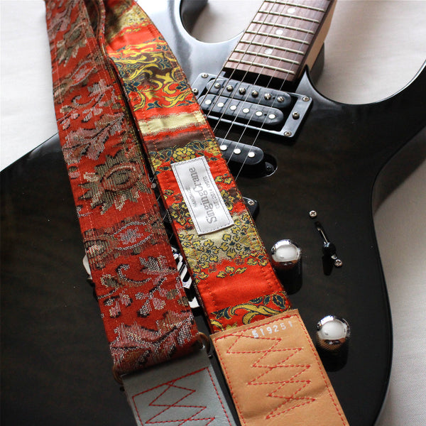 Singing Crane - Beautiful guitar strap - SC519251