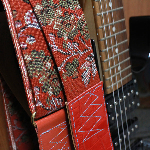 Singing Crane - Beautiful guitar strap - SC519252
