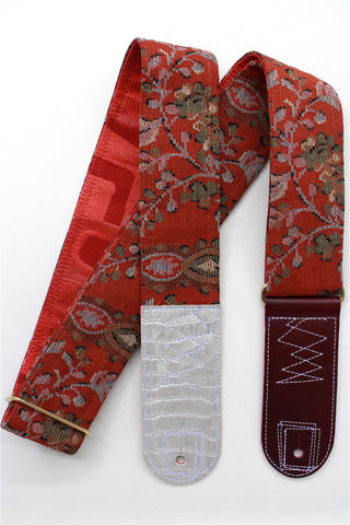 Singing Crane - Beautiful guitar strap - SC519253