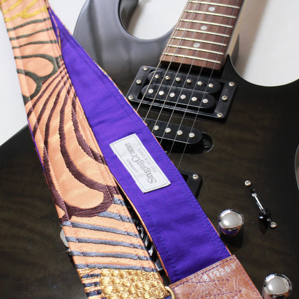 Singing Crane - Beautiful guitar strap - SC519261
