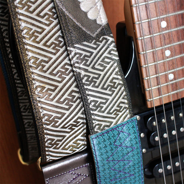 Singing Crane - Beautiful guitar strap - SC520033