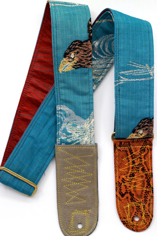 Singing Crane - Beautiful guitar strap - SC718031