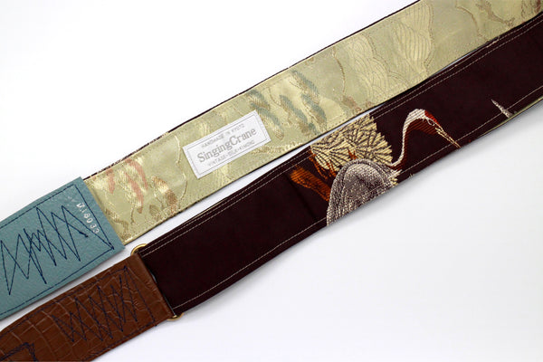 Singing Crane - Beautiful guitar strap - SC718033