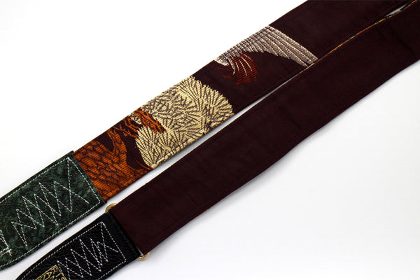Singing Crane - Beautiful guitar strap - SC718036
