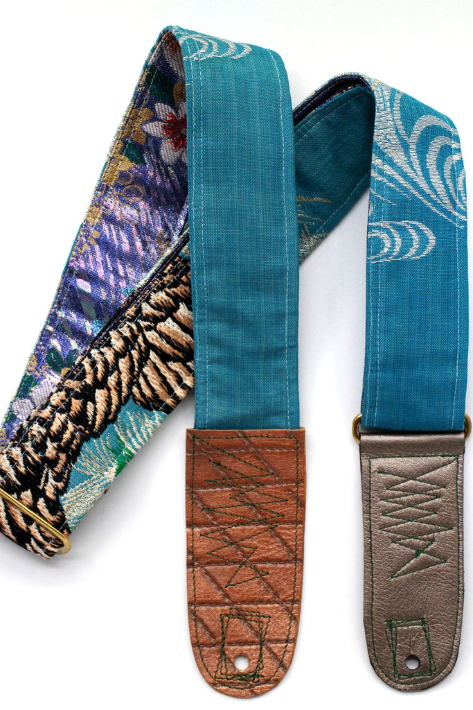 Singing Crane - Beautiful guitar strap - SC718039