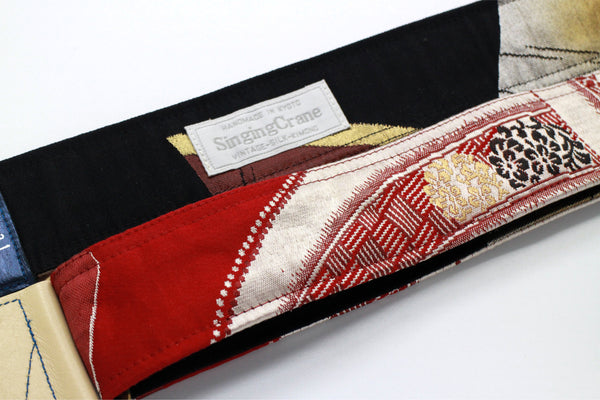 Singing Crane - Beautiful guitar strap - SC818031