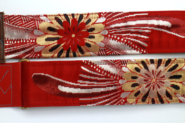 Singing Crane - Beautiful guitar strap - SC818032