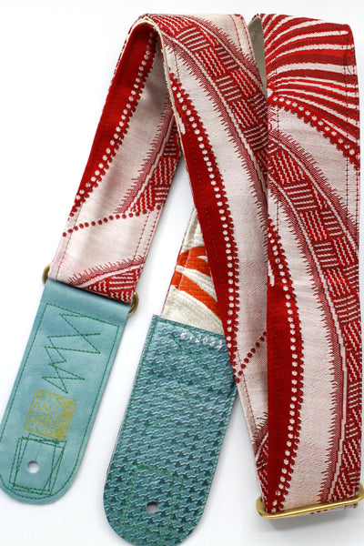 Singing Crane - Beautiful guitar strap - SC818033