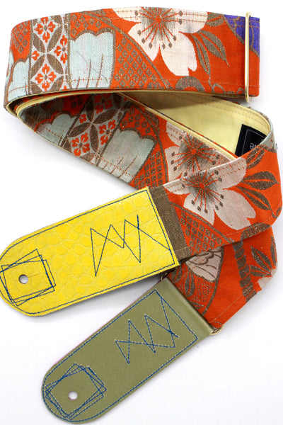 Singing Crane - Beautiful guitar strap - SC818052