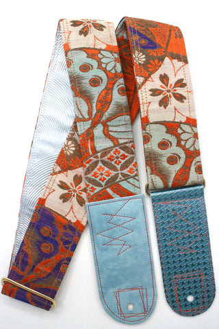 Singing Crane - Beautiful guitar strap - SC818053