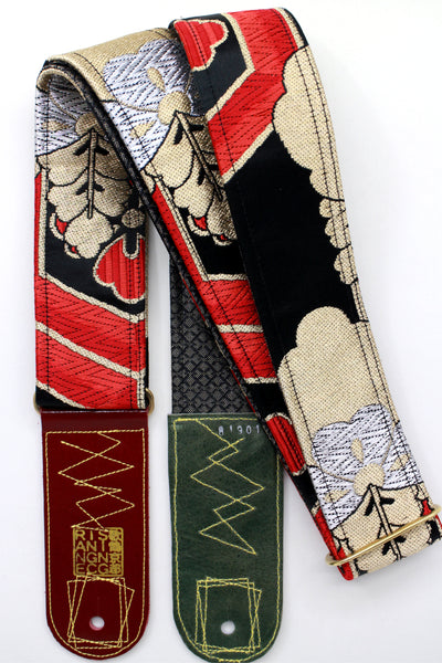 Singing Crane - Beautiful guitar strap - SC819011