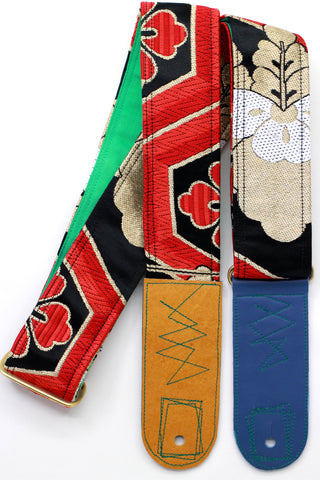 Singing Crane - Beautiful guitar strap - SC819013