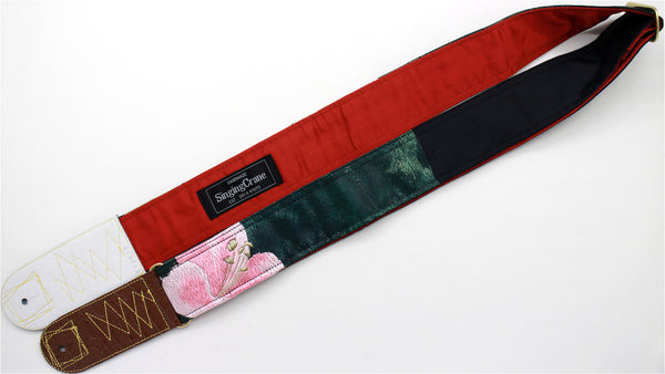Singing Crane - Beautiful guitar strap - SC819043