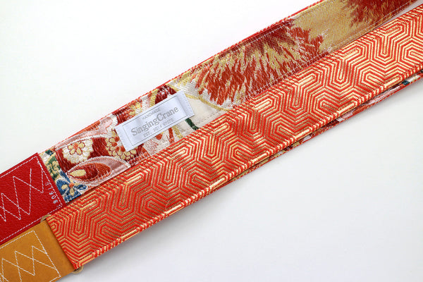 Singing Crane - Beautiful guitar strap - SC819061