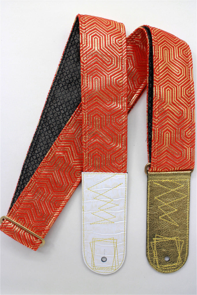 Singing Crane - Beautiful guitar strap - SC819063