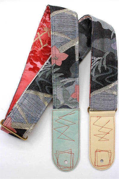Singing Crane - Beautiful guitar strap - SC819072