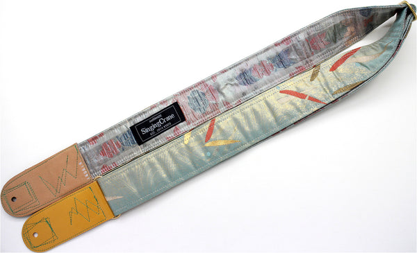 Singing Crane - Beautiful guitar strap - SC819091