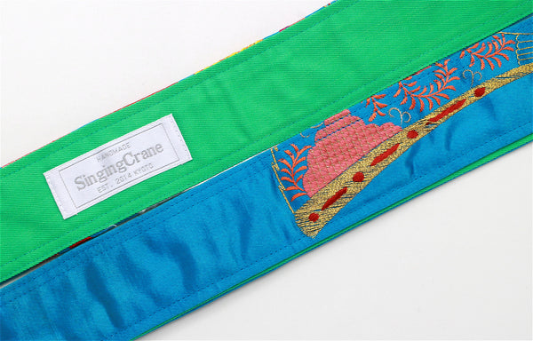 Singing Crane - Beautiful guitar strap - SC819101