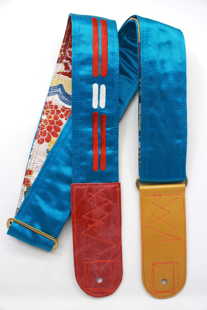 Singing Crane - Beautiful guitar strap - SC819102