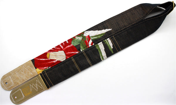 Singing Crane - Beautiful guitar strap - SC819111