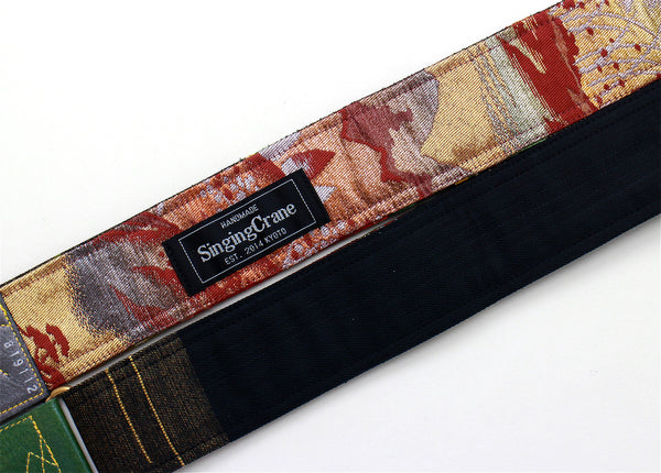 Singing Crane - Beautiful guitar strap - SC819112
