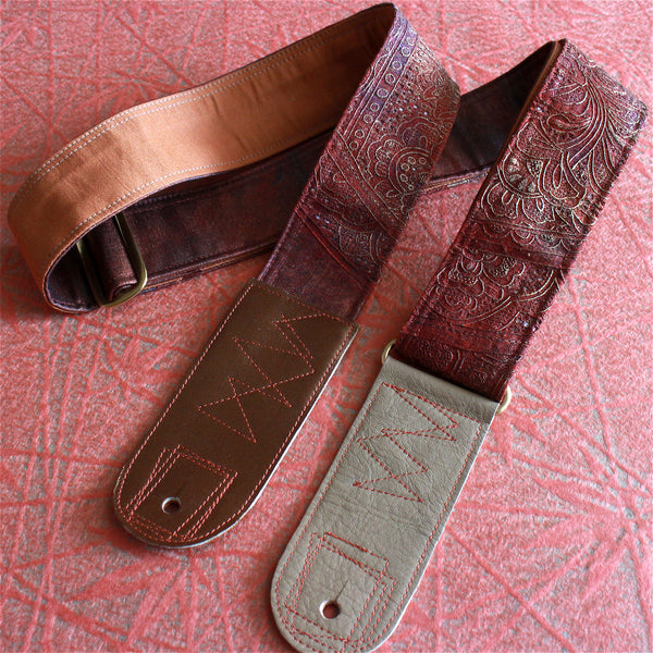 Singing Crane - Beautiful guitar strap - SC819121