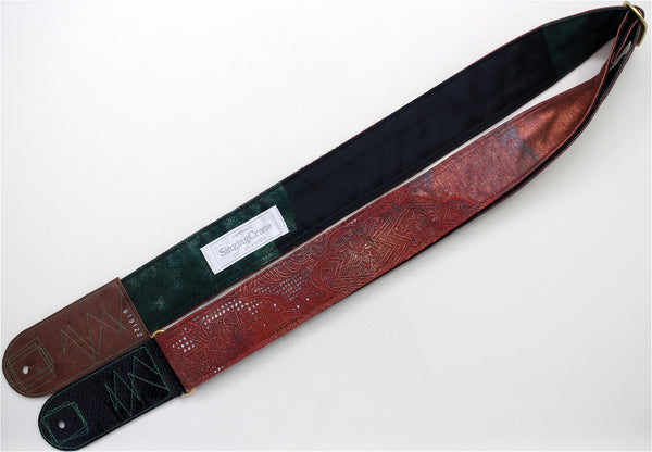 Singing Crane - Beautiful guitar strap - SC819122