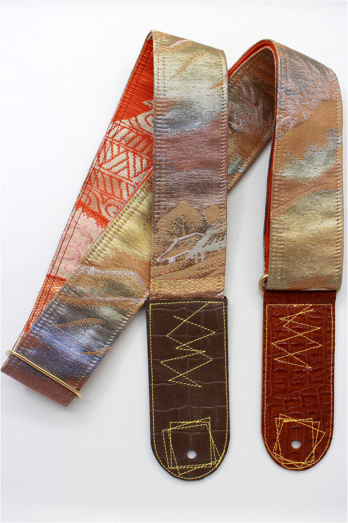 Singing Crane - Beautiful guitar strap - SC819132