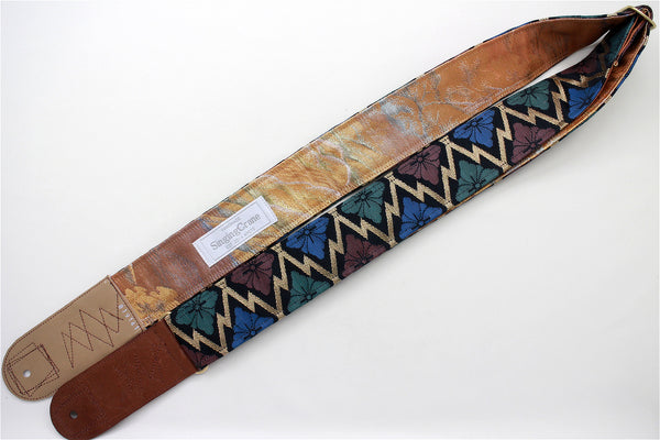 Singing Crane - Beautiful guitar strap - SC819141