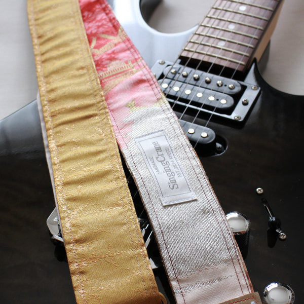 Singing Crane - Beautiful guitar strap - SC819151