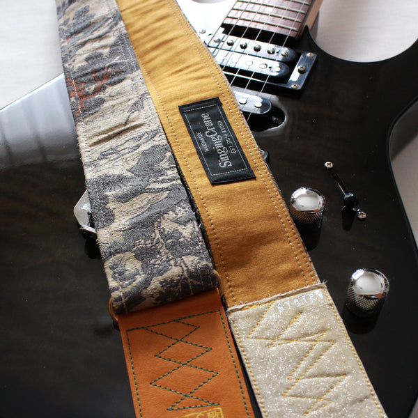 Singing Crane - Beautiful guitar strap - SC819161