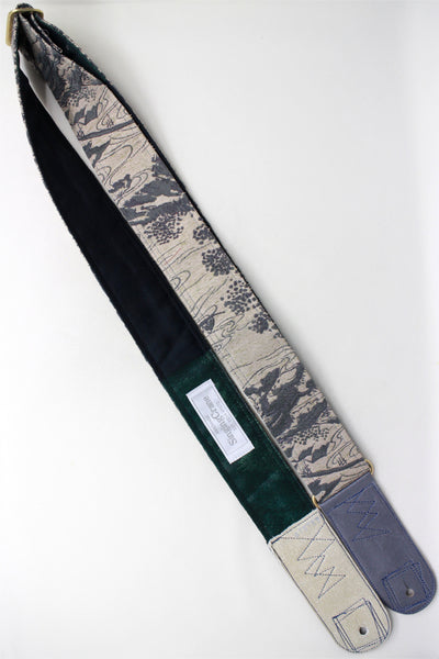 Singing Crane - Beautiful guitar strap - SC819162