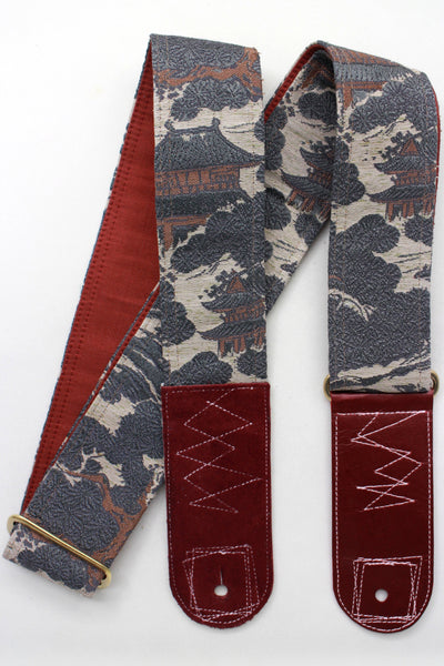 Singing Crane - Beautiful guitar strap - SC819163
