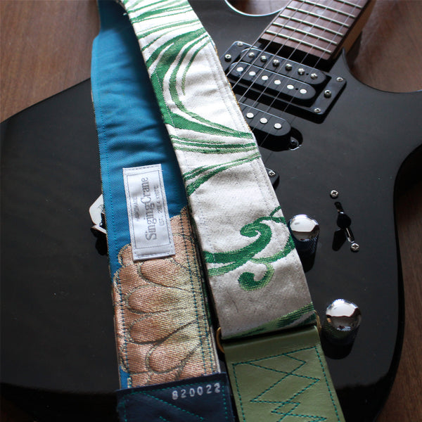 Singing Crane - Beautiful guitar strap - SC820022